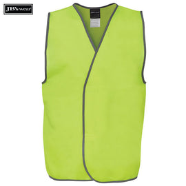 Image of JB's Wear Hi-Vis Vests, Style Code - 6HVSV. Contact Natural Art for Screen Printing on this Product