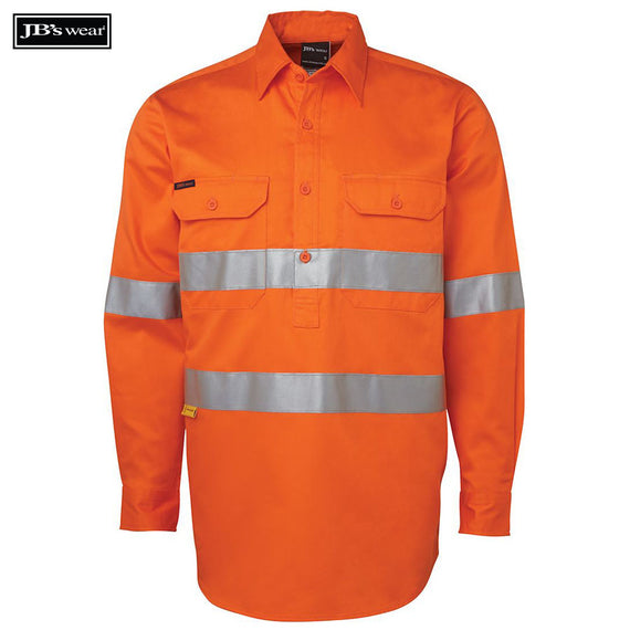 Image of JB's Wear Hi-Vis Shirts, Style Code - 6HWCF. Contact Natural Art for Screen Printing on this Product