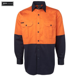 Image of JB's Wear Hi-Vis Shirts, Style Code - 6HWS. Contact Natural Art for Screen Printing on this Product