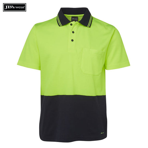 Image of JB's Wear Hi-Vis Polos, Style Code - 6NCCS. Contact Natural Art for Screen Printing on this Product