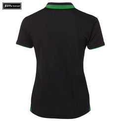 JB's Wear 7SWP1 Ladies Swirl Polo