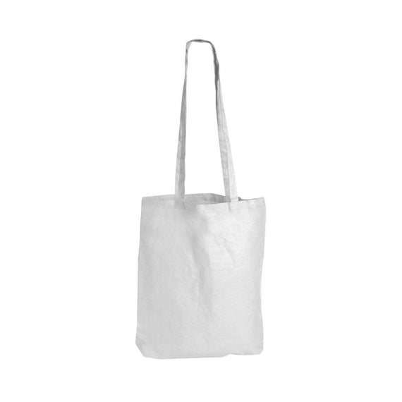 Logo-Line LL510 Coloured Cotton Double Long Handle Conference Bag - 140 GSM