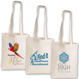 Image of Logo-Line Bags, Style Code - LL512. Contact Natural Art for Screen Printing on this Product