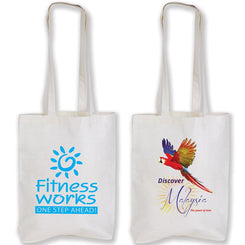 Image of Logo-Line Bags, Style Code - LL515. Contact Natural Art for Screen Printing on this Product