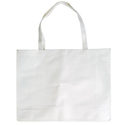 Logo-Line LL516 Giant Bamboo Carry Bag with Double Handles - 100 GSM