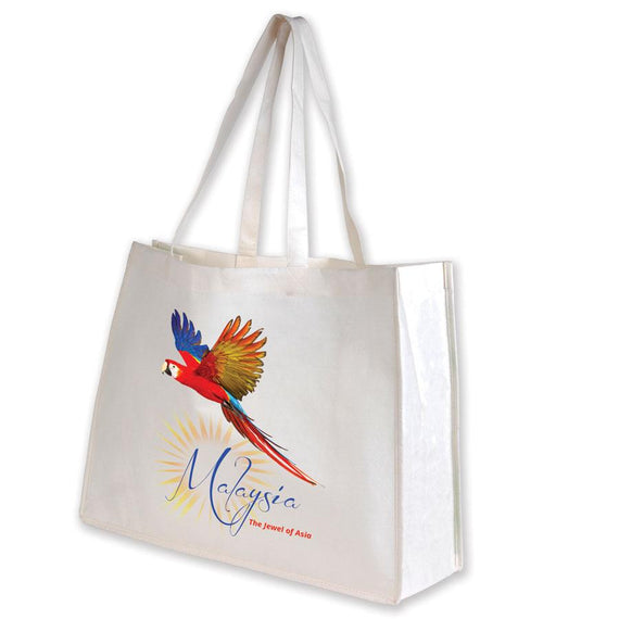 Image of Logo-Line Bags, Style Code - LL516. Contact Natural Art for Screen Printing on this Product