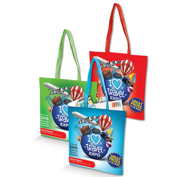 Image of Logo-Line Bags, Style Code - LN535. Contact Natural Art for Screen Printing on this Product