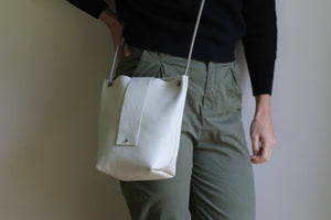 The Dracena Bag - White
