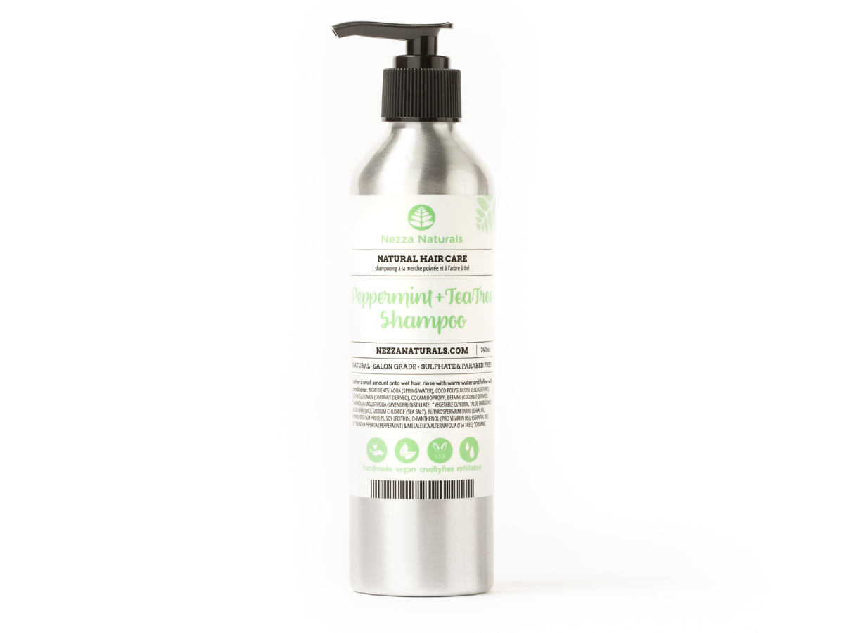 Peppermint & Tea Tree Shampoo