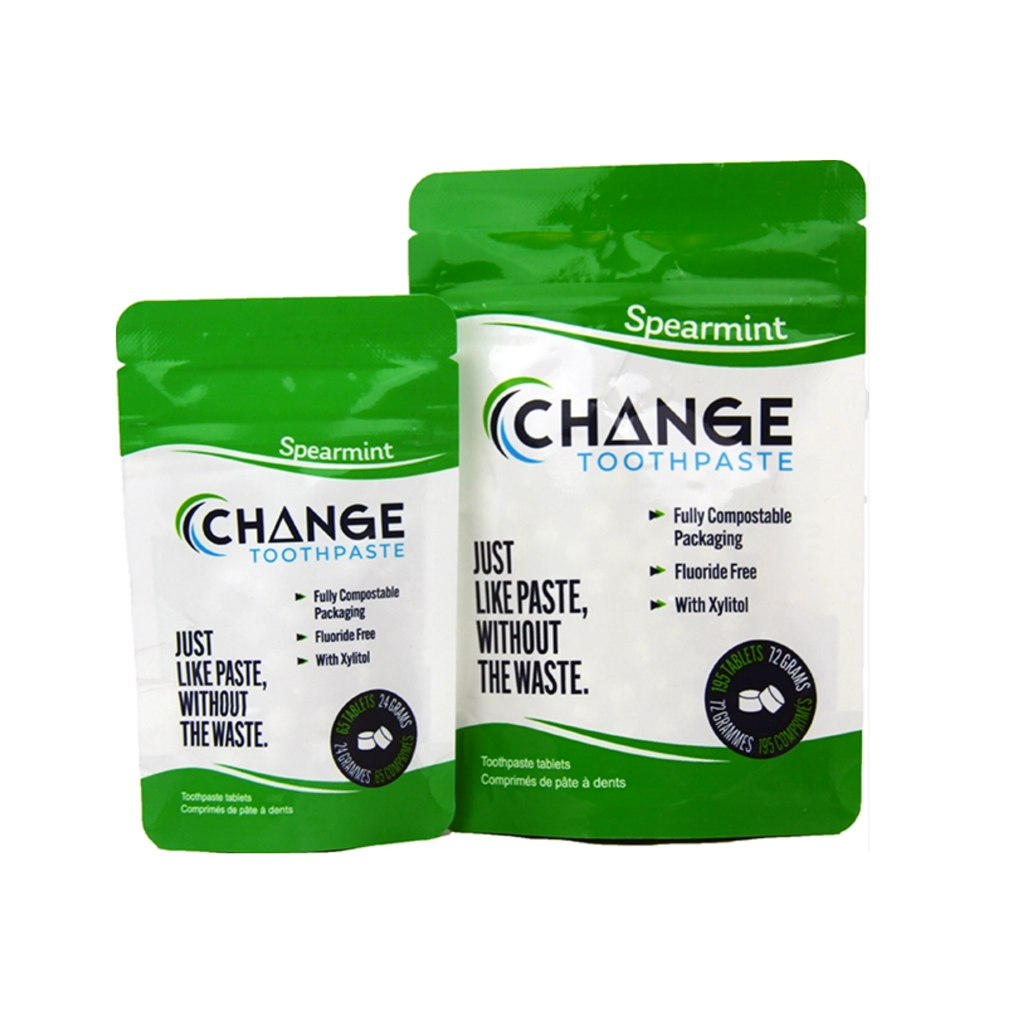 Change - Mint Toothpaste Tablets