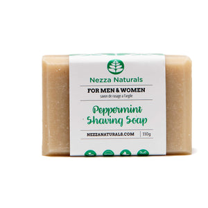 Peppermint Shaving Soap Bar