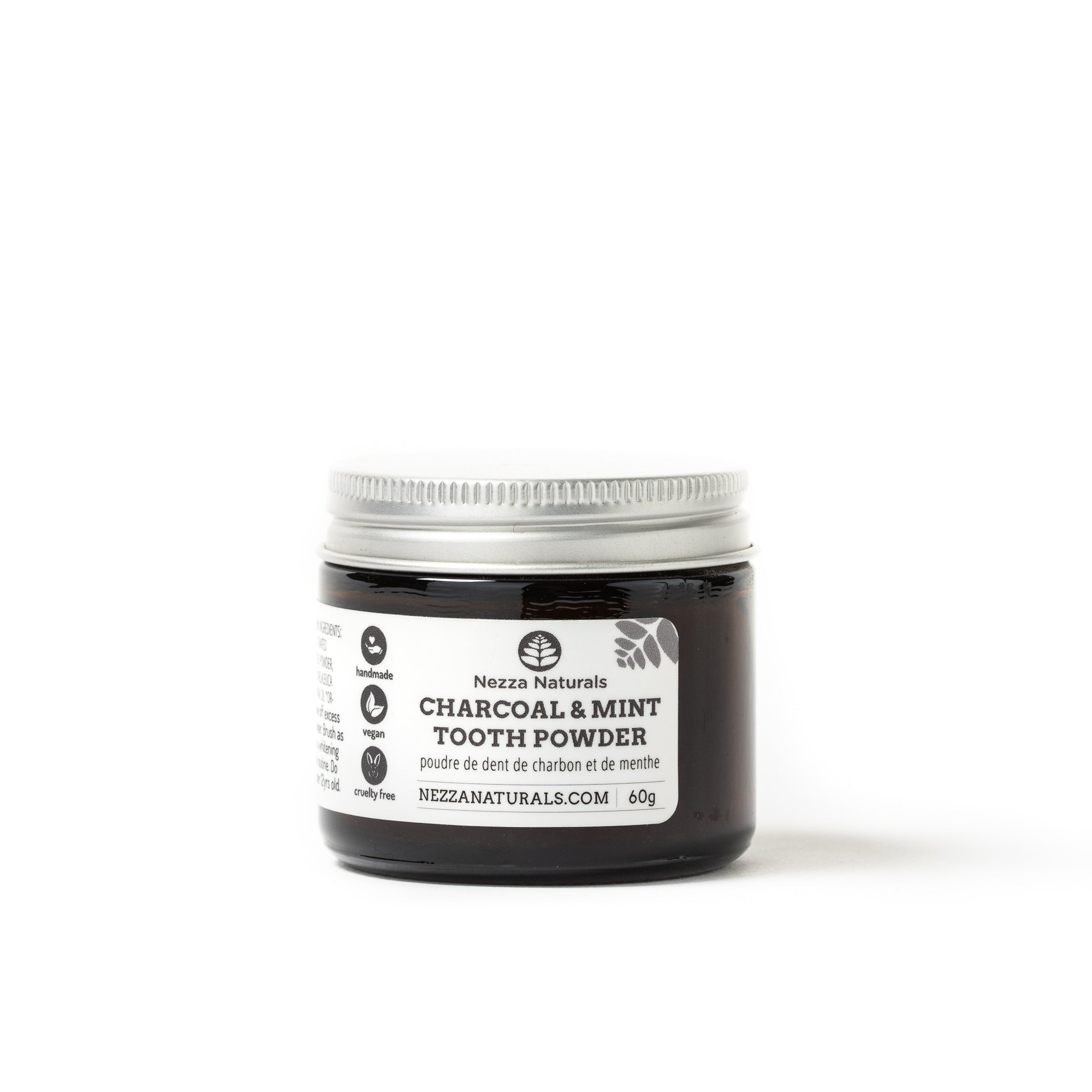 Charcoal & Mint Tooth Powder