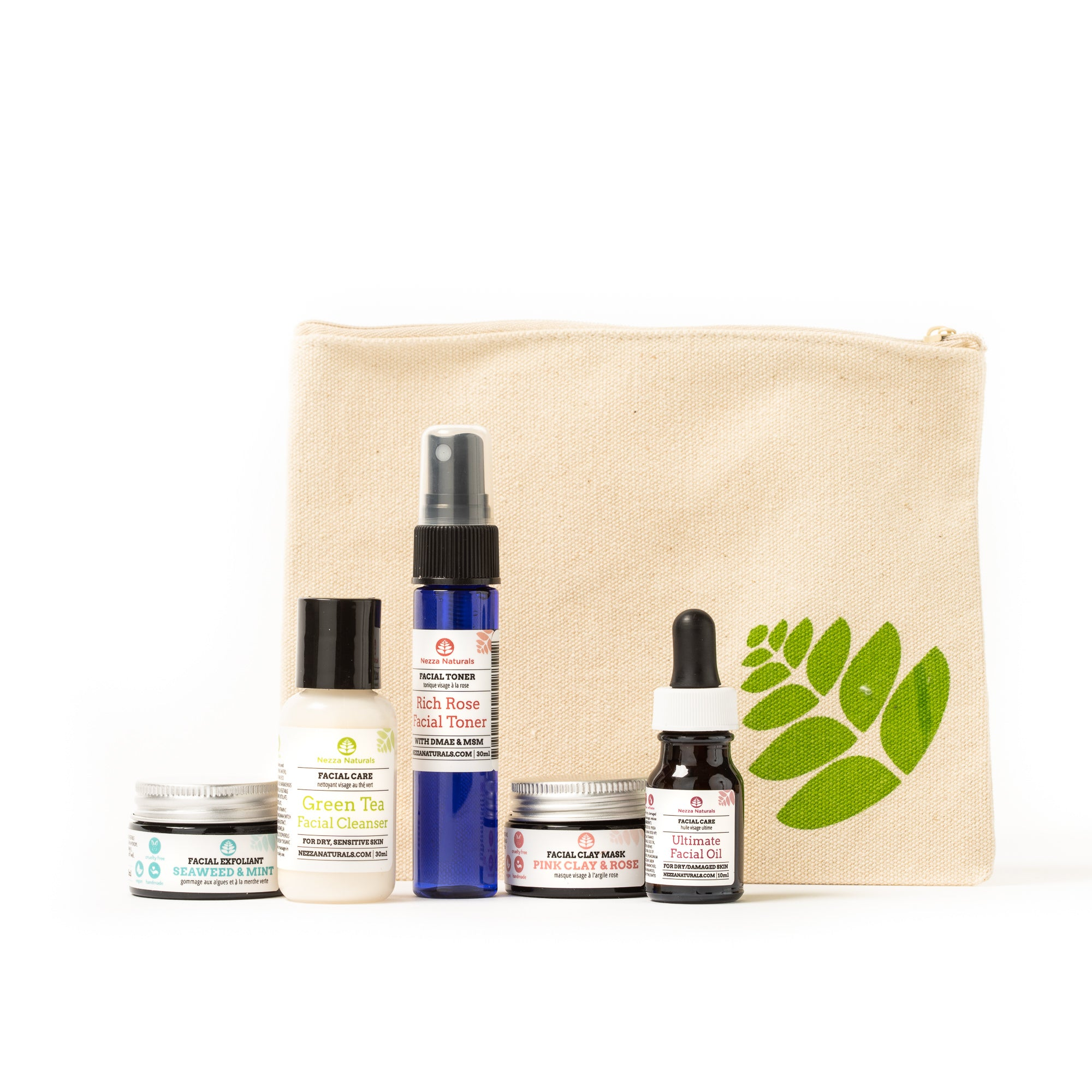 NOURISH Facial Starter Kit for Dry Skin