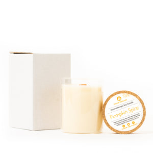 Aromatherapy Soy Candle in Lemongrass