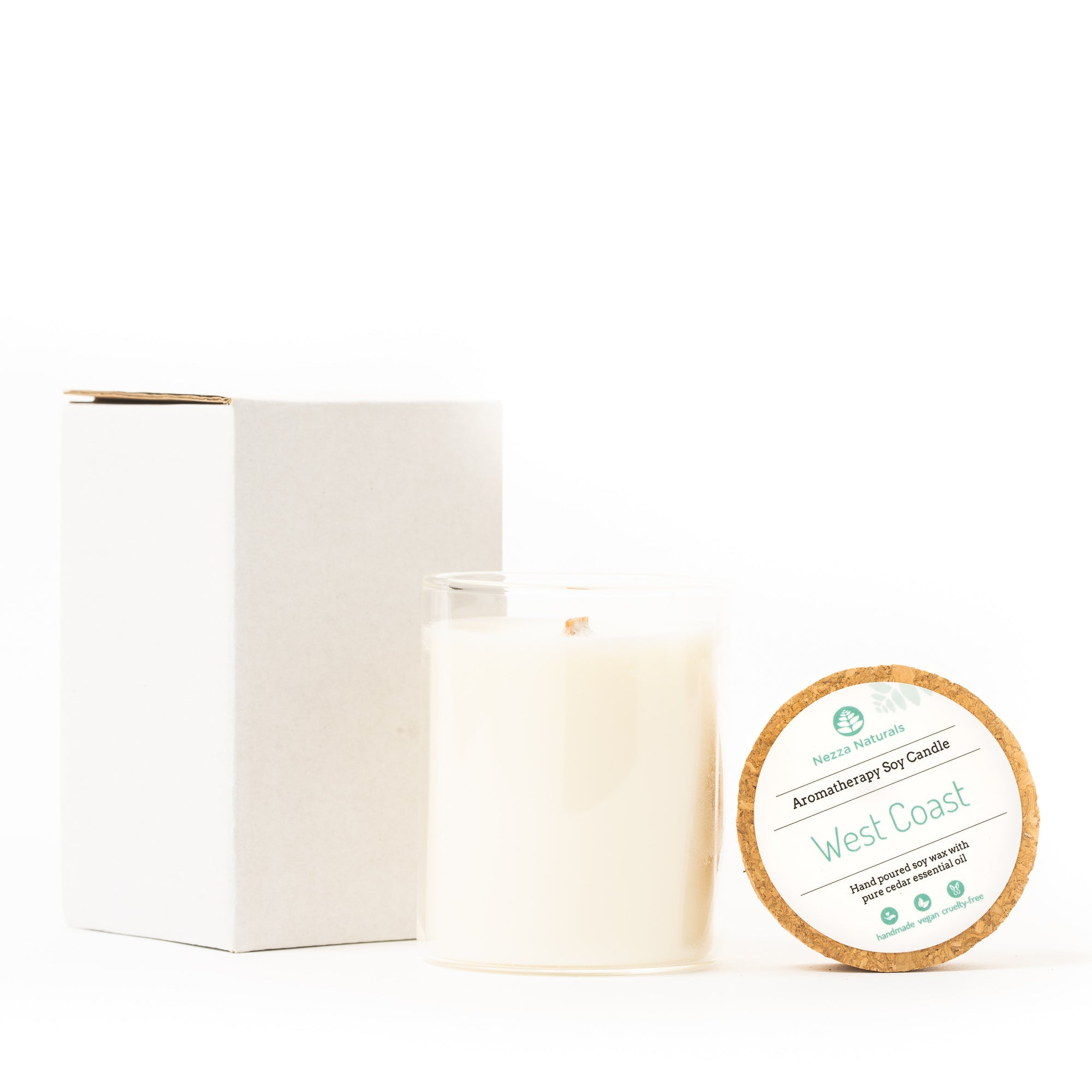 Aromatherapy Soy Candle in West Coast