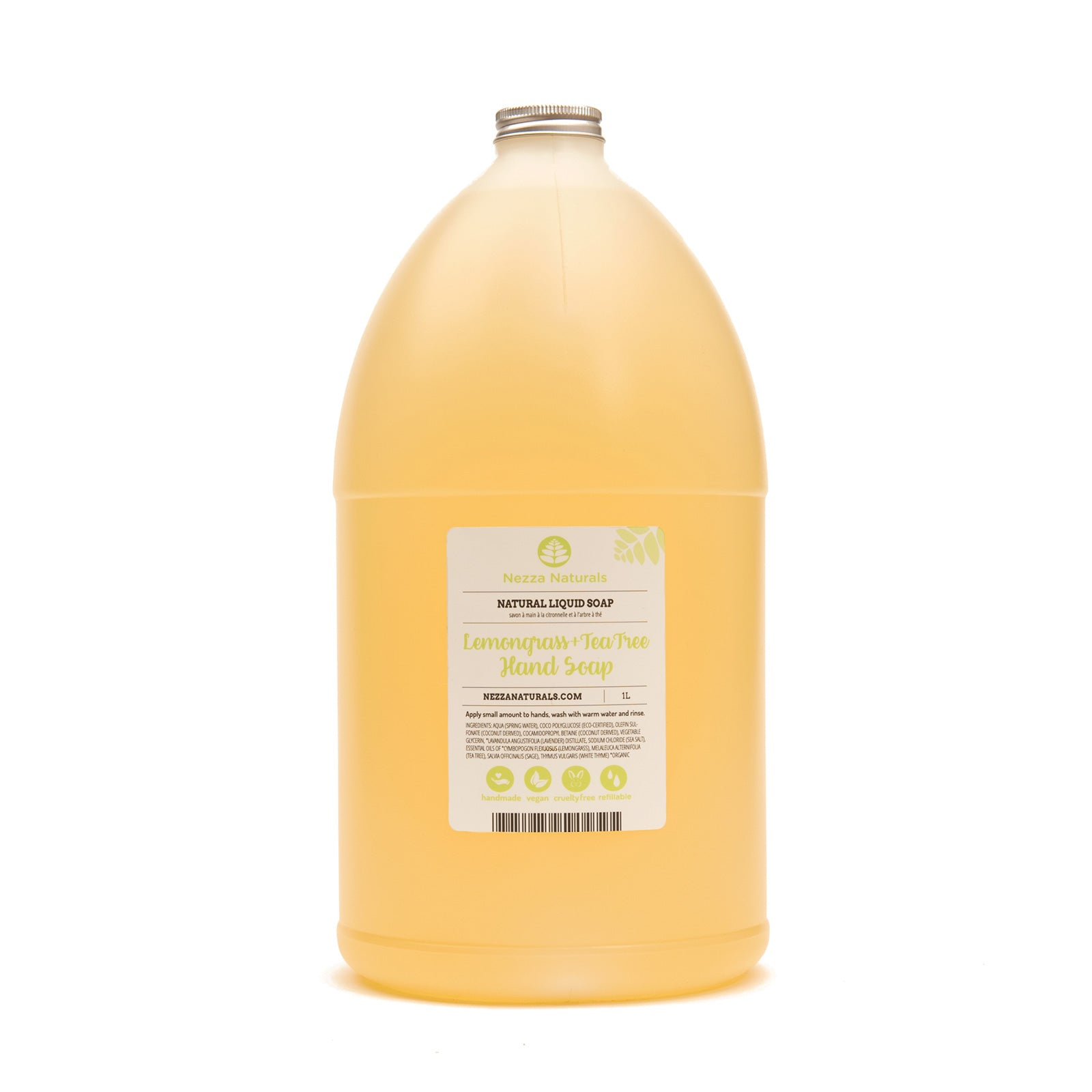Lemongrass & Tea Tree Liquid Hand Soap - 4L