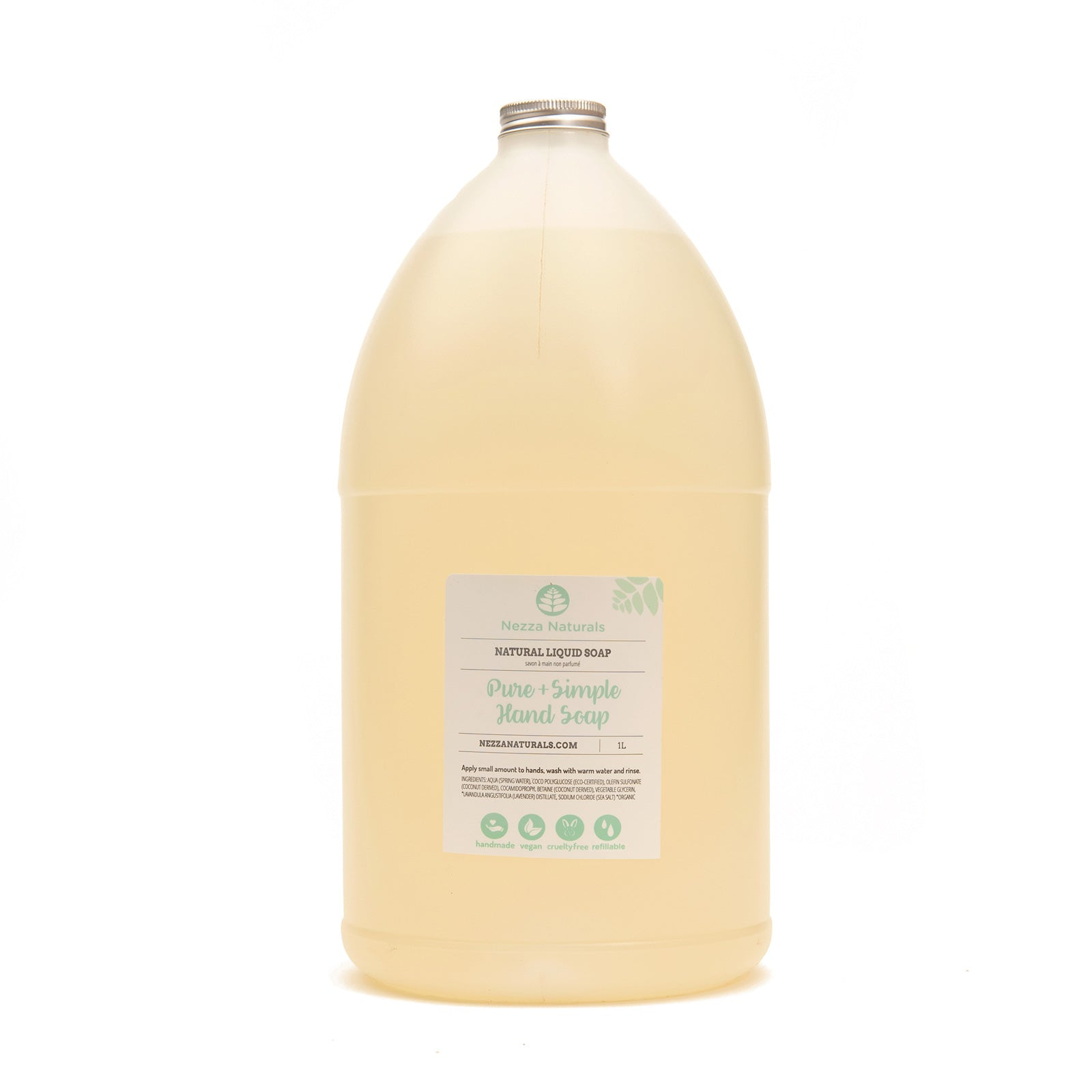 Pure & Simple Liquid Hand Soap - 4L