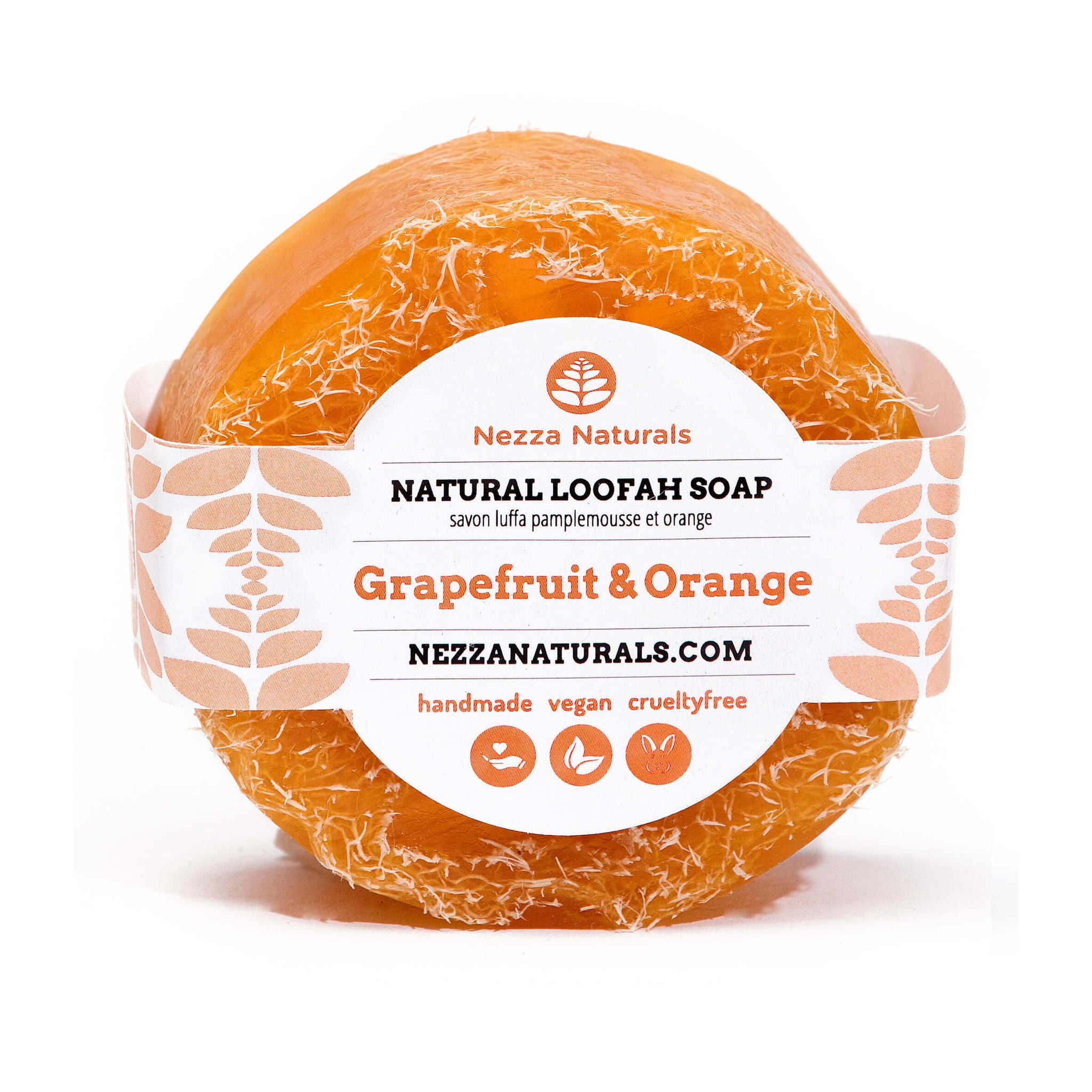 Grapefruit & Orange Loofah Soap Bar