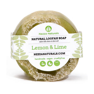 Lemon & Lime Loofah Soap Bar