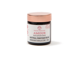 amour natural perfume balm | organic | natural | Nezza Naturals
