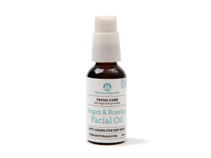 argan & rosehip facial oil | organic | natural | Nezza Naturals