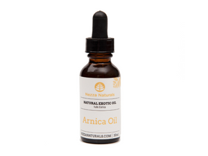 arnica exotic carrier oil | organic | natural | Nezza Naturals