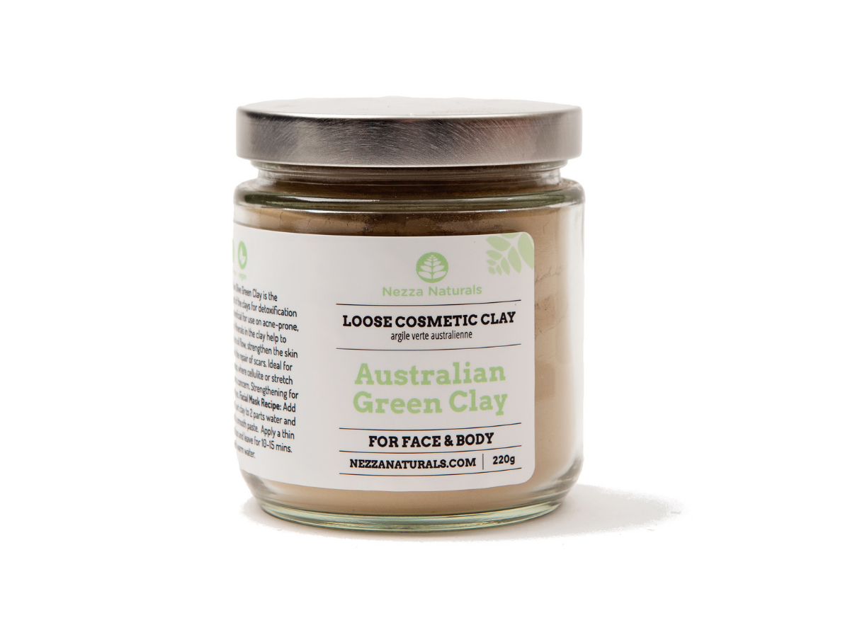 australian green clay | organic | natural | Nezza Naturals