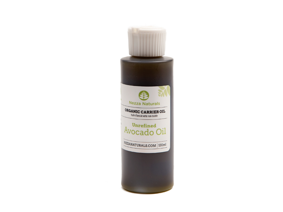 unrefined green avocado carrier oil | organic | natural | Nezza Naturals