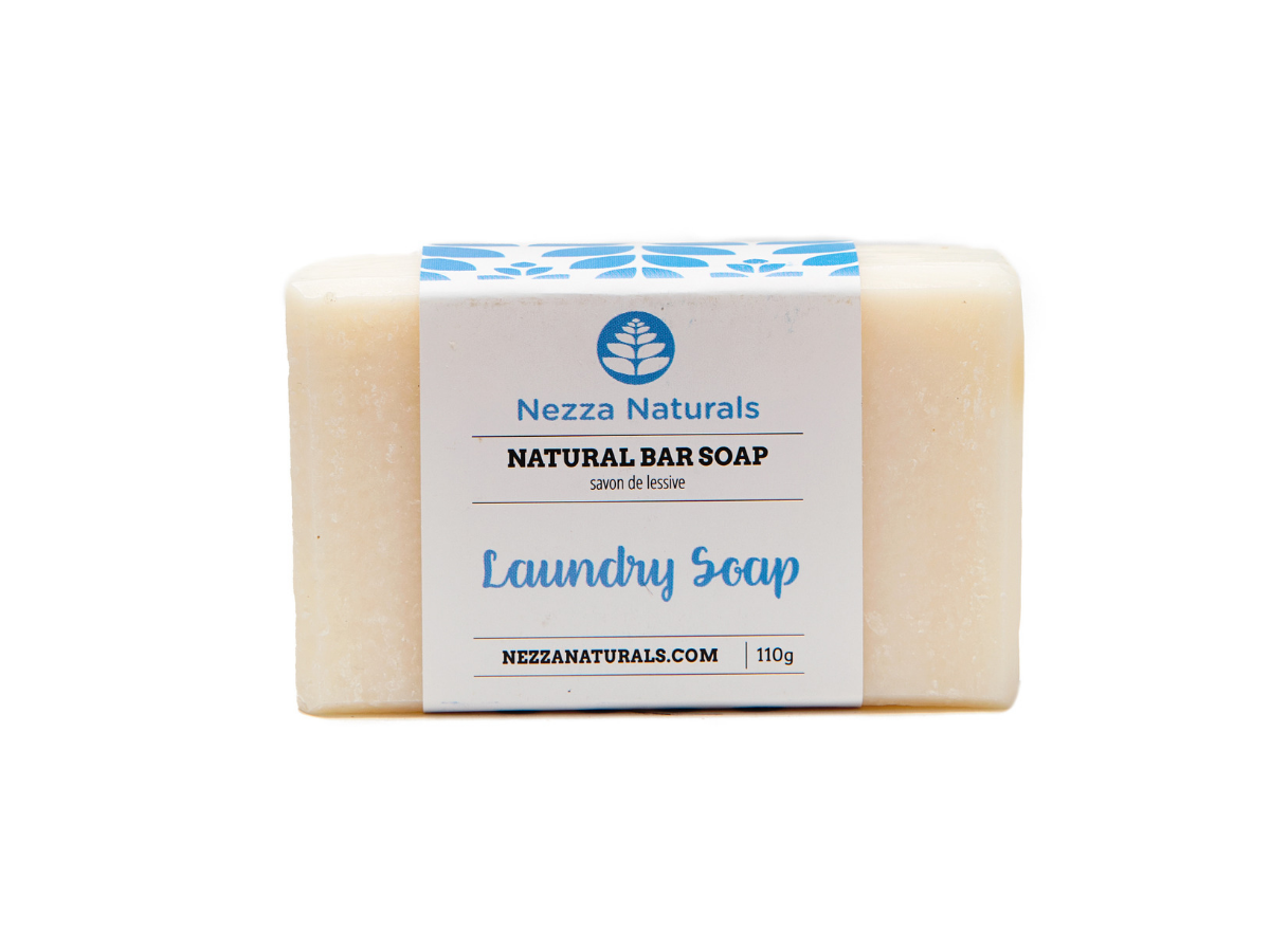 laundry bar soap | organic | natural | Nezza Naturals