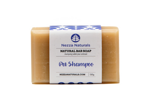 dog shampoo bar | organic | natural | Nezza Naturals