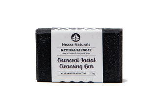 charcoal facial cleansing bar | organic | natural | Nezza Naturals
