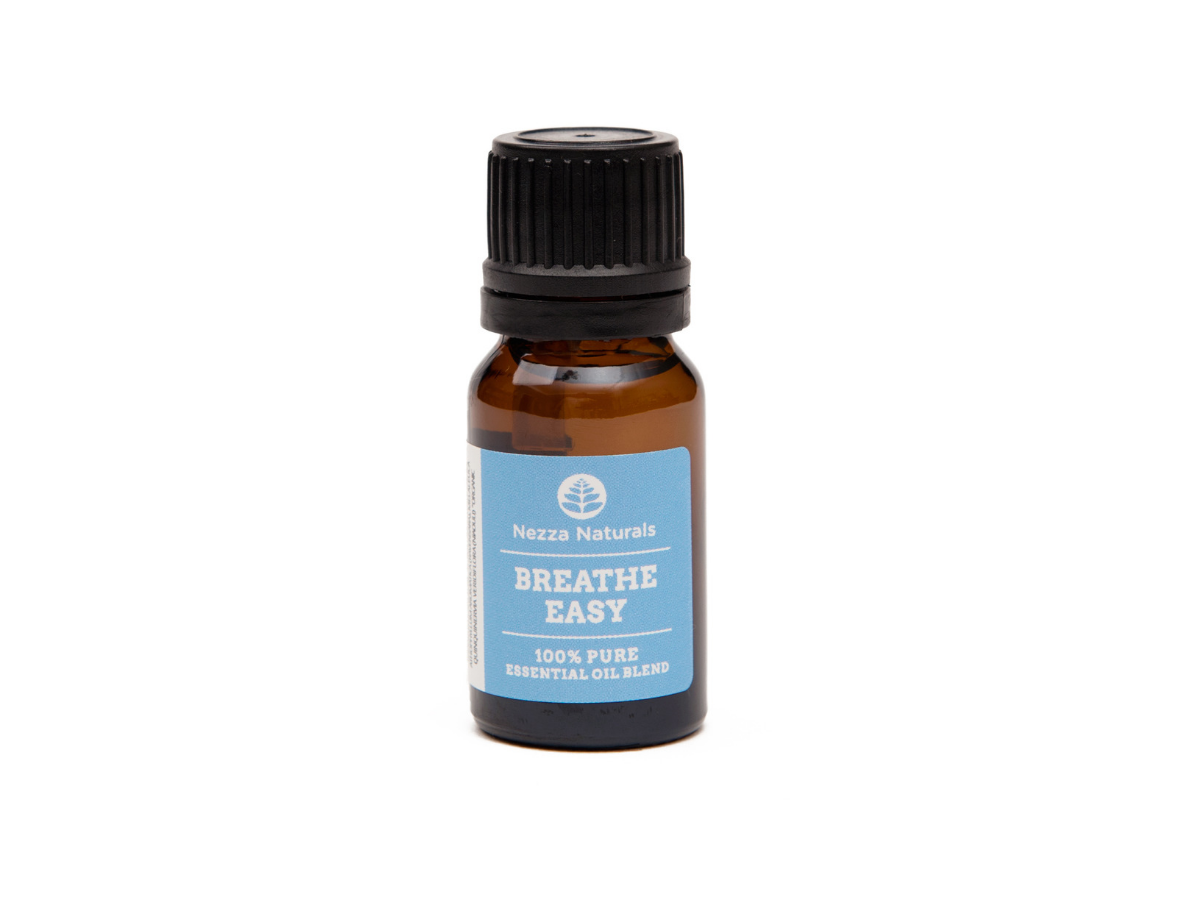breathe easy essential oil blend | organic | natural | Nezza Naturals