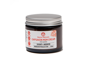 capsaicin MSM cream | organic | natural | Nezza Naturals