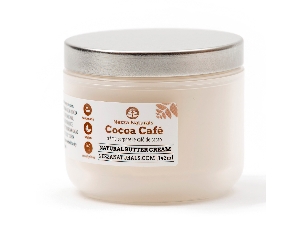 cocoa cafe body butter cream | organic | natural | Nezza Naturals