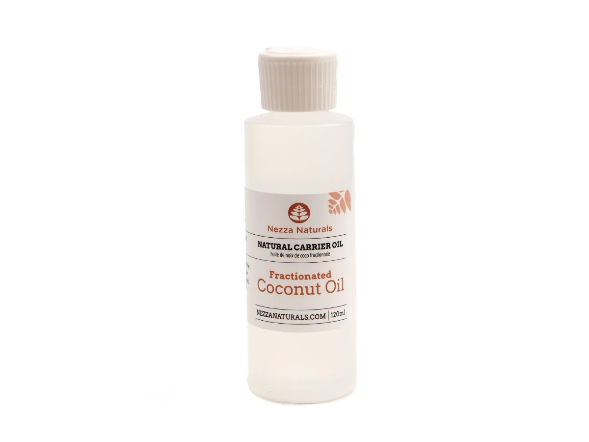 fractionated coconut carrier oil | organic | natural | Nezza Naturals