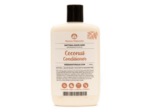 coconut conditioner | organic | natural | Nezza Naturals