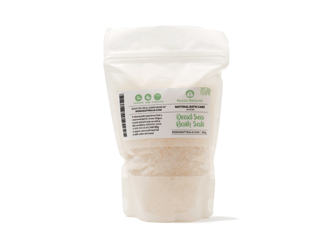 dead sea bath salts | organic | natural | Nezza Naturals