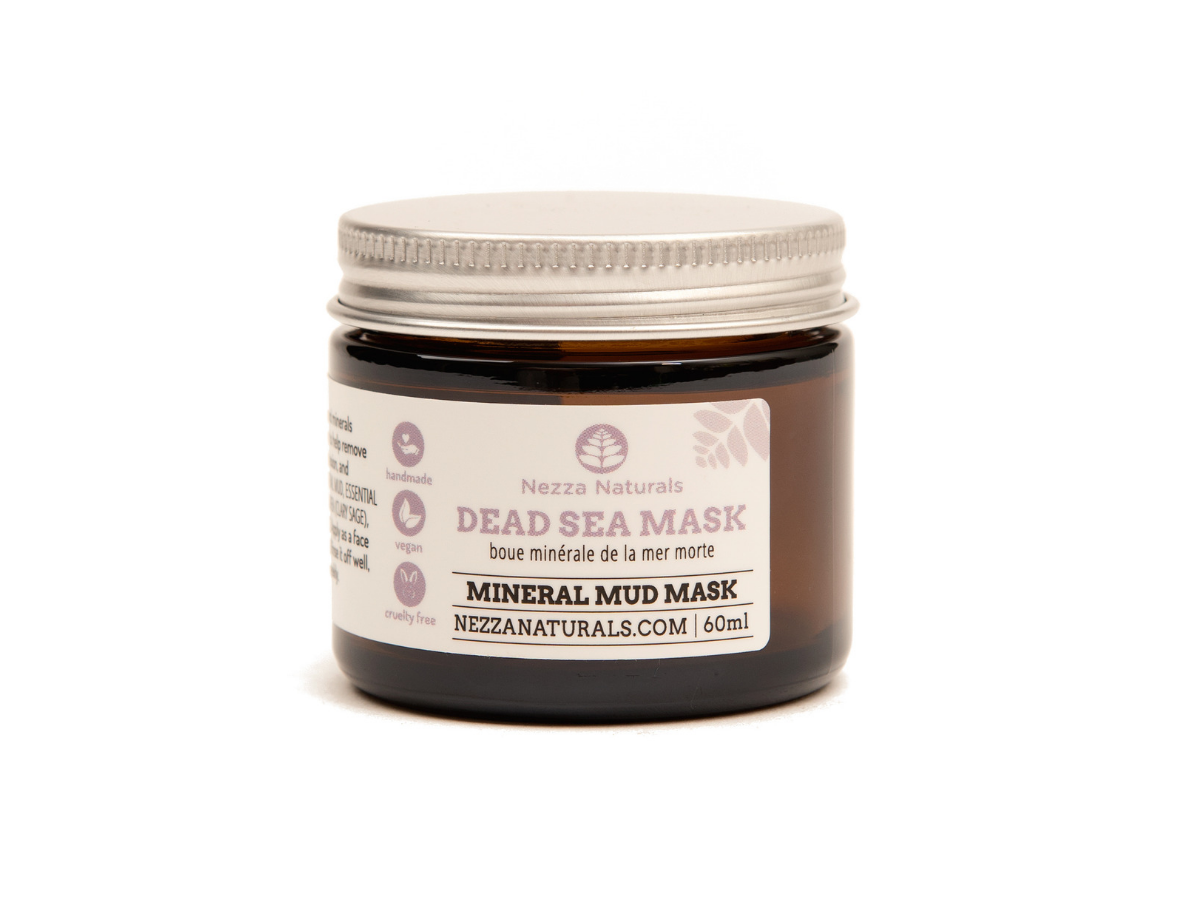 dead sea facial mask | organic | natural | Nezza Naturals