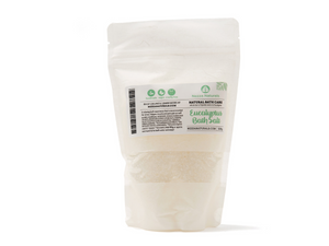 eucalyptus bath salts | organic | natural | Nezza Naturals