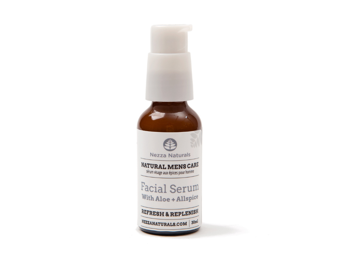 men's facial serum | organic | natural | Nezza Naturals