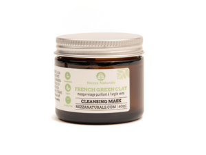 french green clay mask | organic | natural | Nezza Naturals