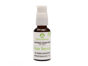 hair serum | organic | natural | Nezza Naturals