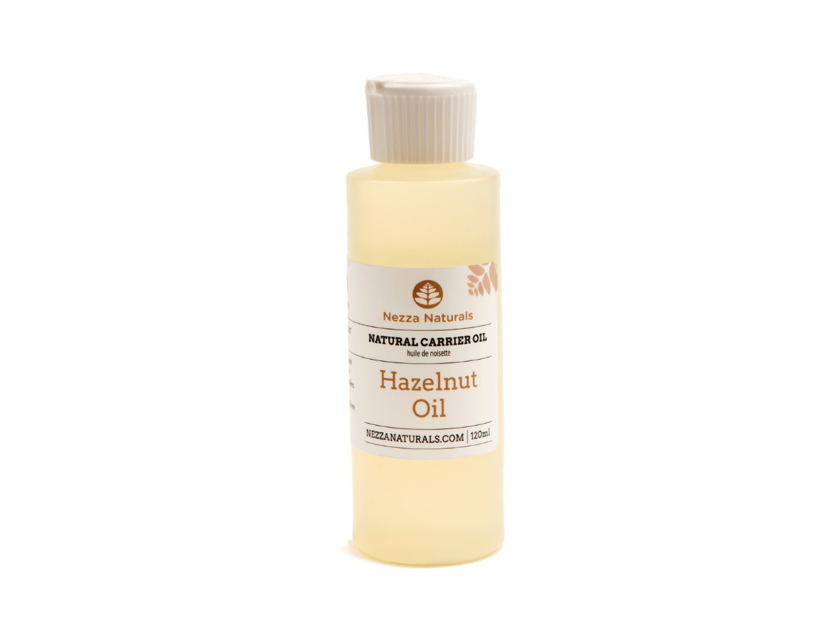 hazelnut carrier oil | organic | natural | Nezza Naturals