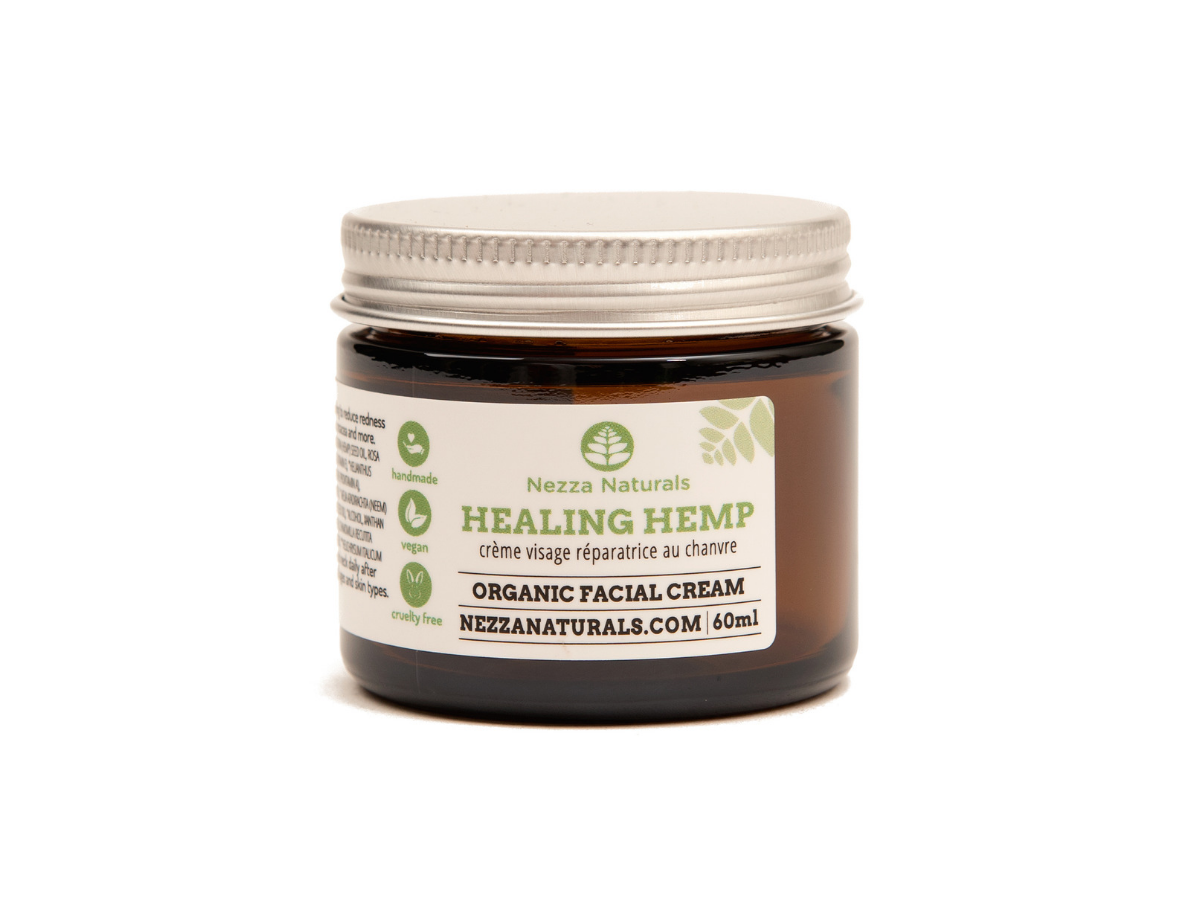 healing hemp facial cream | organic | natural | Nezza Naturals