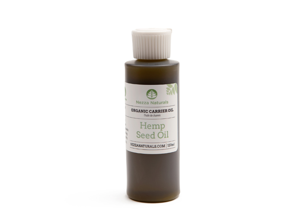 hemp seed carrier oil | organic | natural | Nezza Naturals