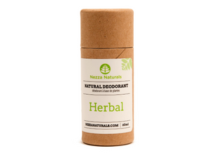 herbal natural deodorant | organic | natural | Nezza Naturals