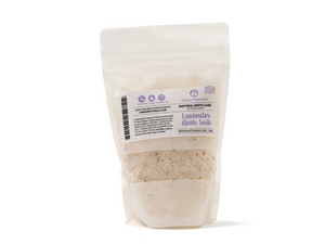 lavender bath salts | organic | natural | Nezza Naturals