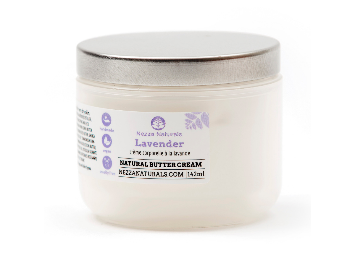 lavender body butter cream | organic | natural | Nezza Naturals