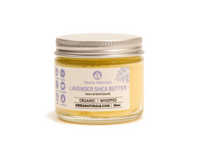 lavender whipped shea butter | organic | natural | Nezza Naturals