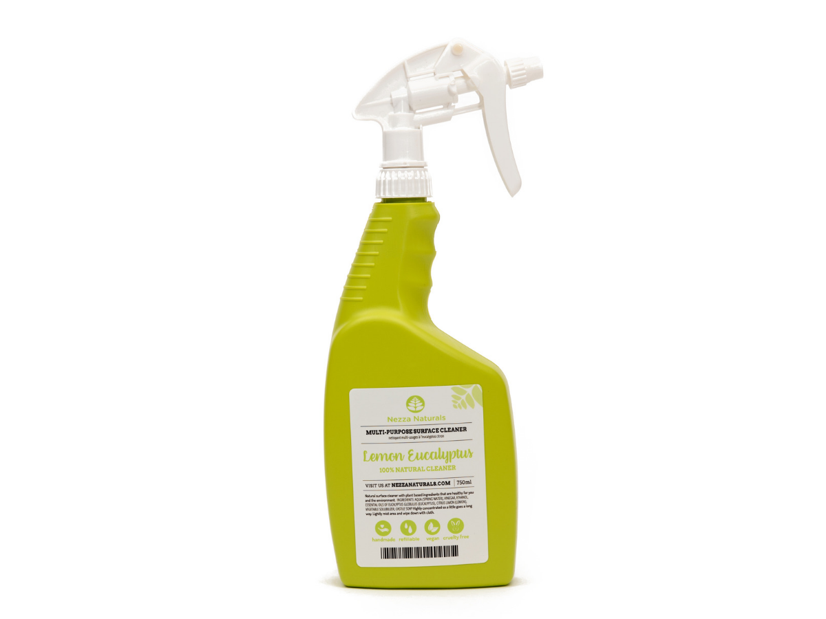 lemon eucalyptus multipurpose cleaner | organic | natural | Nezza Naturals
